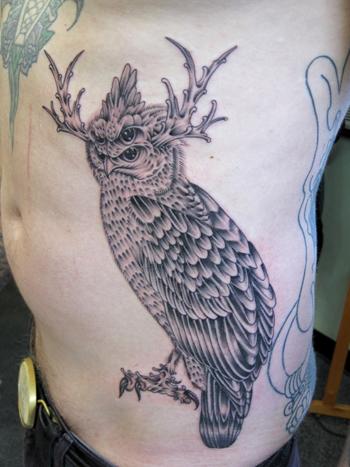Creepy Creeps' Dave Warshaw's tattoo art and ballpoint works