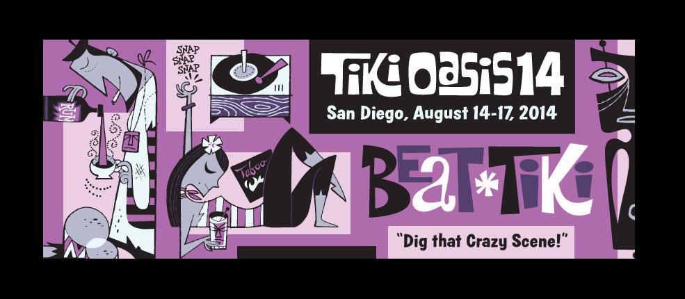 """Tiki Oasis 14: """"Beat Tiki"""" August 14-17"""