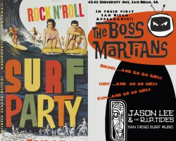 8/8: Boss Martians + Jason Lee in San Diego