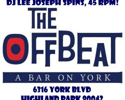 8/30: DJ Lee at The Offbeat