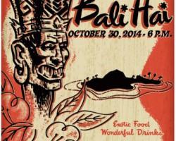 Bali Hai 60th / Creepxotica Poster!