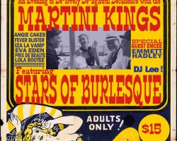 Martini Kings – Stars of Burlesque – DJ Lee