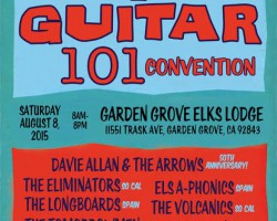 8th Annual Surf Guitar 101 Convention Saturday Aug 8!