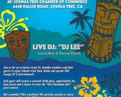 Joshua Tree Chamber of Commerce Tiki Party 2nite w/ DJ Lee!