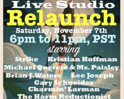 11/7: LuxuriaMusic Live Studio Relaunch!