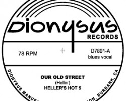 New Dionysus Releases – Alika Lyman Group LP and Skip Heller 78RPM!