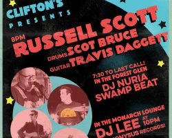 Russell Scott / DJ Nuria / DJ Lee at Clifton's DTLA 7/21