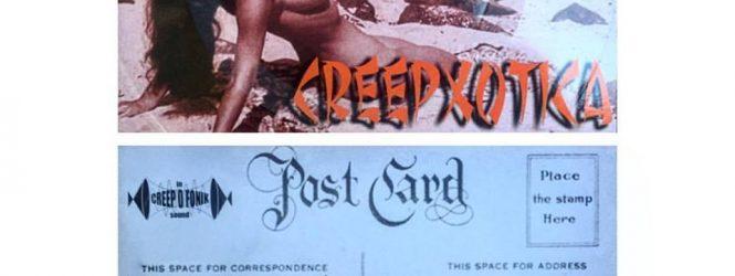 San Diego! Free Creepxotica Postcard Record Today!