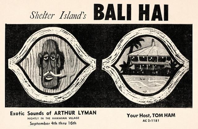Arthur Lyman at Bali Hai 1960s