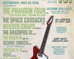 8/12: Dionysus Records at 9th Annual Surf Guitar 101