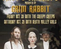 2night: Creepy Creeps w/ Gram Rabbit @ Pappy & Harriet's!