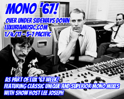 1/4: OUSD's Mono 67 on LuxuriaMusic with DJ Lee Joseph