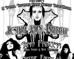 2nite: Jesika von Rabbit – Sumo Princess – Native Fauna @ Monty Bar L.A!