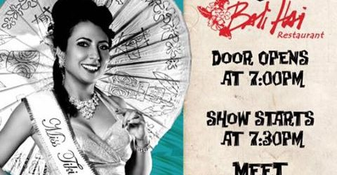 2NITE Creepxotica and Miss Tiki Oasis at Bali Hai San Diego!