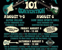 10th Annual Surf Guitar 101 Convention This Weekend!