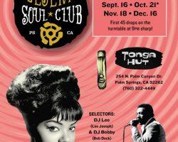 Sat 9/16 Desert Soul Club Palm Springs – Sun 9/17 Jesika von Rabbit San Diego