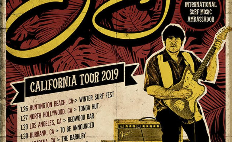 Lorenzo Surfer Joe California Tour Winter 2019!