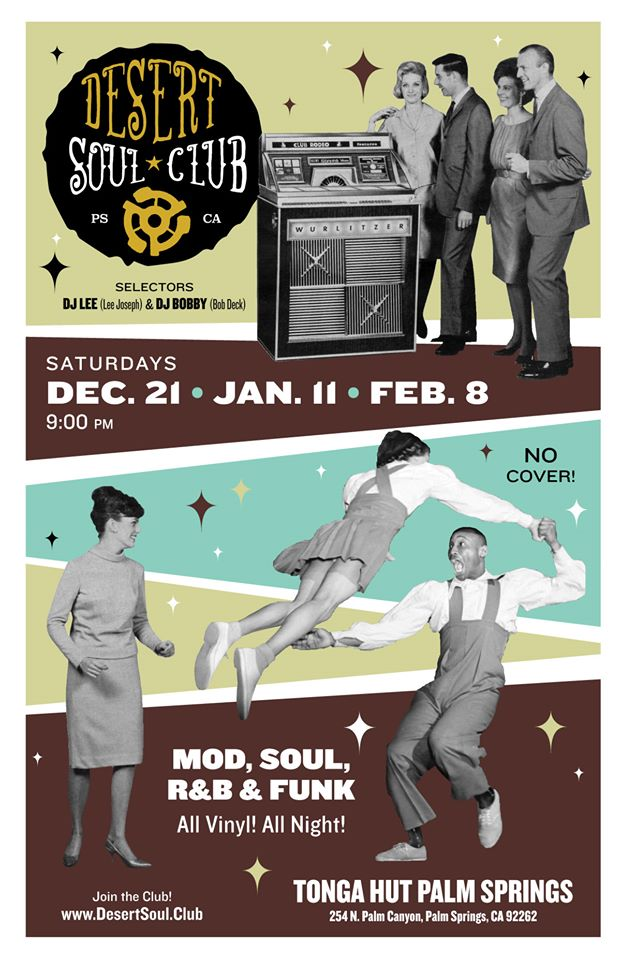 Desert Soul Club Winter Dates