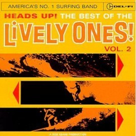 The Lively Ones - Heads Up! The Best of the Lively Ones Vol.2 CD