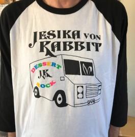 Jesika von Rabbit Dessert Rock Ringer T Shirt