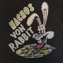 Jesika von Rabbit Nachos von Rabbit T-Shirt Black