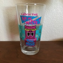 Tiki Oasis New Wave Pint Glass