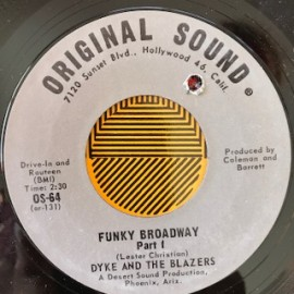 Dyke and the Blazers - Funky Broadway orig 7