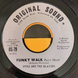 Dyke and the Blazers - Funky Walk orig 7