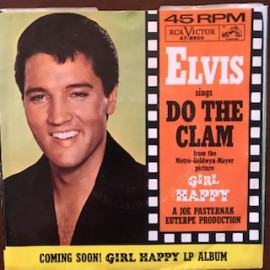 Elvis Presley - Do the Clam 45 Orig nm-/vg++