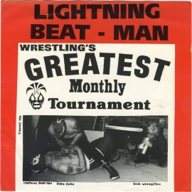 Lightning Beat Man - Wrestling Rock 'n Roll over America EP 7