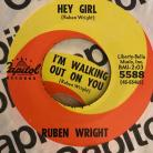 Wright, Ruben - Hey Girl/I'm Walking Out on You 7