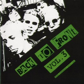 Back to Front Vol. 3 Rare Punk Rock 1977 - 1982 CD Sale Price