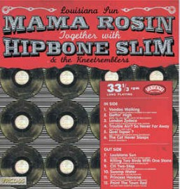 Mama Rosin & Hipbone Slim And The Knee Tremblers ‎– Louisiana Sun CD Sale Price