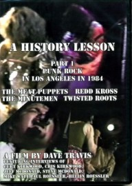 A History Lesson Part 1 Punk Rock in Los Angeles in 1984 DVD