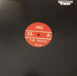 The Drags 45 x 3 LP WAREHOUSE FIND