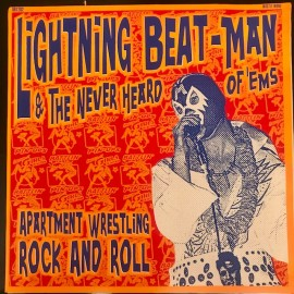 Lightning Beat Man Apartment Wrestling LP