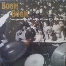 VA - Boom Boom: Forgotten Treasures from the German Beat Boom LP