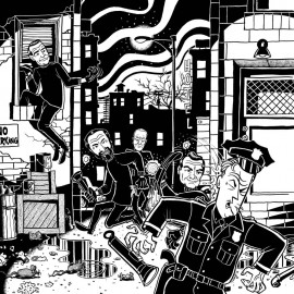 Skurkanara - A Crimewave Escapade! LP