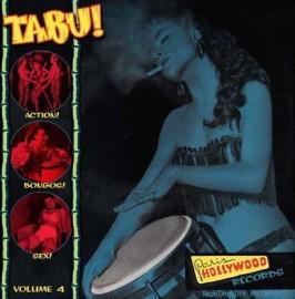 V/A Tabu! Vol 4  Exotic Music to Strip By LP