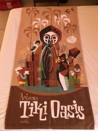 Mookie Sato Arizona Tiki Oasis Beach Towel