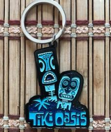 Tiki Oasis 18 Keychain