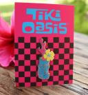 Tiki Oasis 19 New Wave Enamel Splash Pin
