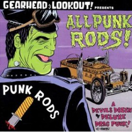 V/A: ALL PUNK RODS! - A Gearhead Magazine Compilation LP