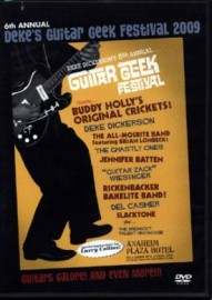 DEKE'S GUITAR GEEK FESTIVAL 2009 DVD