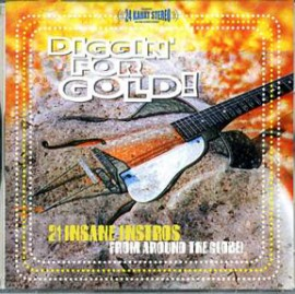 V/A - Diggin' For Gold: 21 Insane Instros From Around The Globe! CD