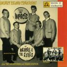 THE IMPACTS/MERRELL & THE EXILES - Desert Island Treasures LP