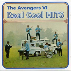 THE AVENGERS VI - Real Cool Hits White Vinyl LP