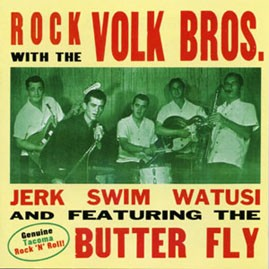 THE VOLK BROTHERS - Rock With The Volk Brothers CD