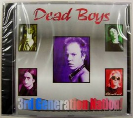 Dead Boys - 3rd Generation Nation CD