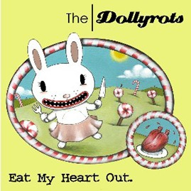The Dollyrots - Eat My Heart Out Color Vinyl LP
